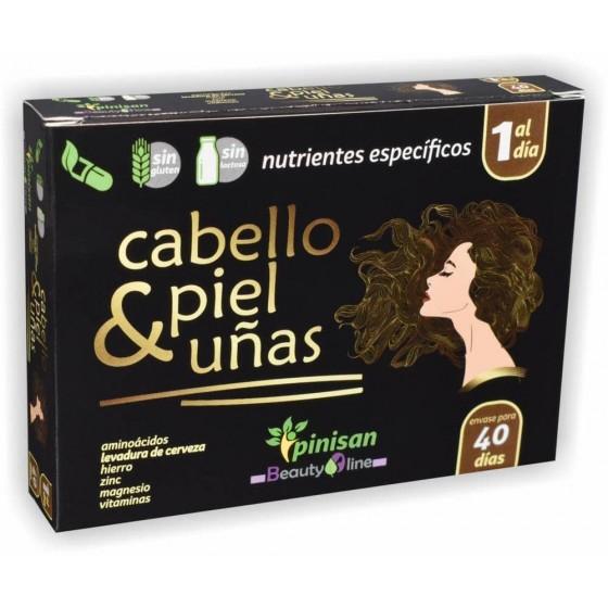 Cabello, Piel & Uñas 40Cáps...